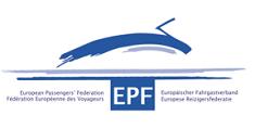 European Passenger Federation (EPF) logo