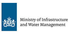 Ministry of Infrastructures and Water Management logo