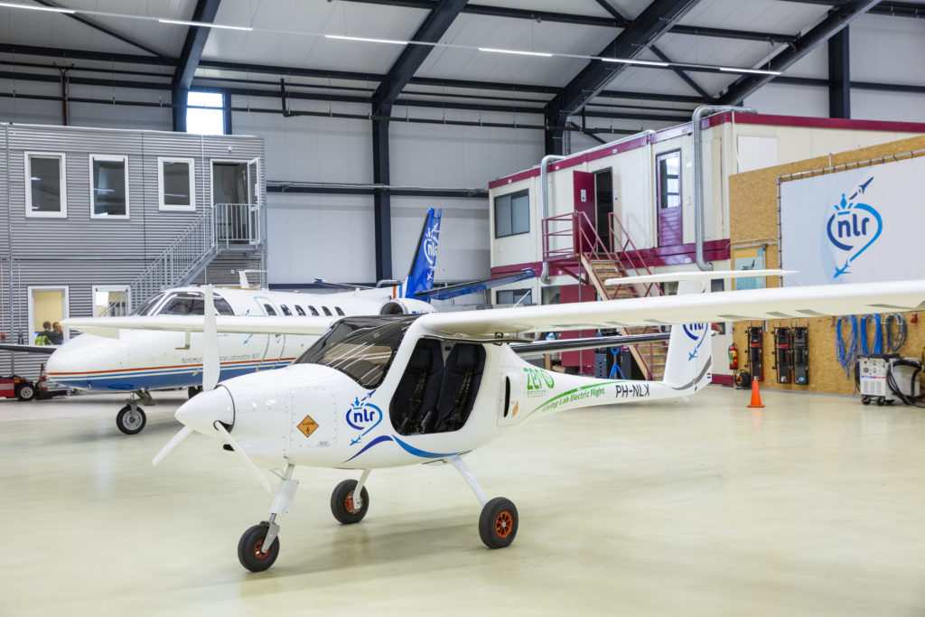 The Pipistrel Velis Electro from the Netherland Royal Research Centre (NLR)